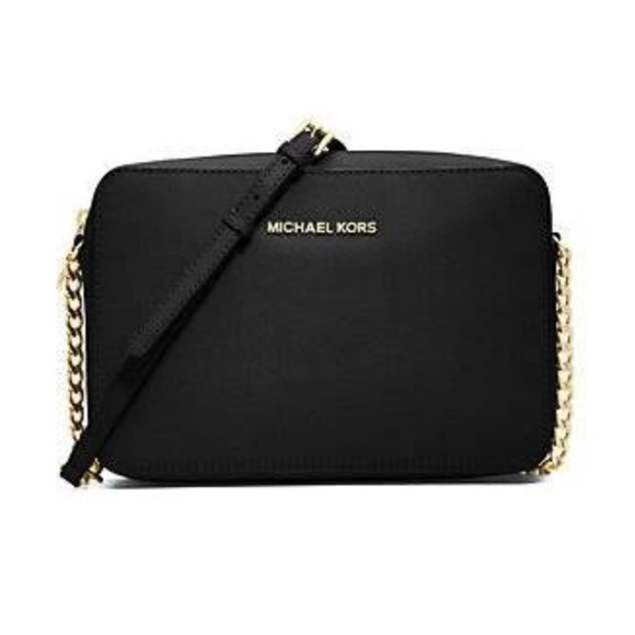 5989ec8d48243b Michael Kors Jet Set Large Leather Crossbody. M_5b0ff8103afbbdcfee934d5a